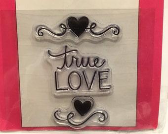 true love clear stamp set, 30-45 mm (SB1)