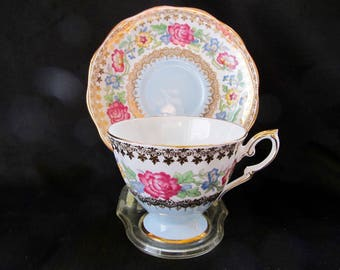 Royal Standard Cup and Saucer Indian Summer