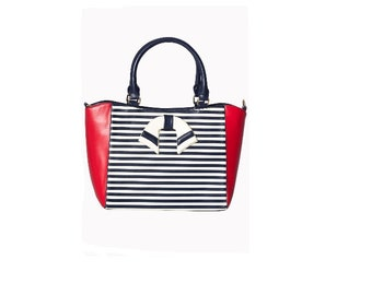 Vintage style nautical bags