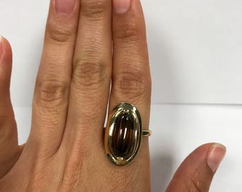 Sarah Coventry Premiere Gold Tone Ring