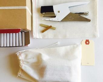 VENTE agrafeuse italien Kit {est livré avec 10 000 agrafes en laiton minuscule}