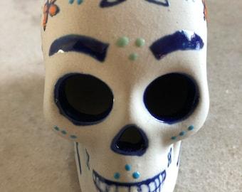 Artistic Ceramic Skull
