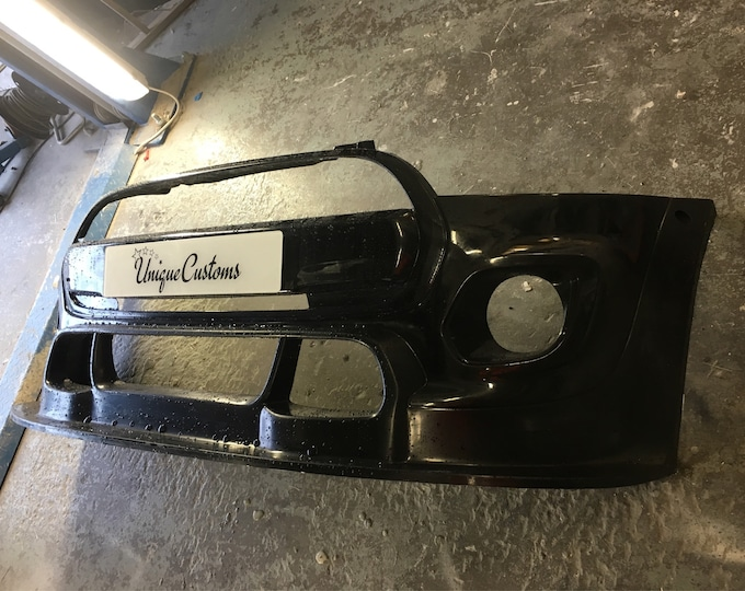 Mini Cooper jcw style front bumper track race show f55 f56 f57 2014 onwards