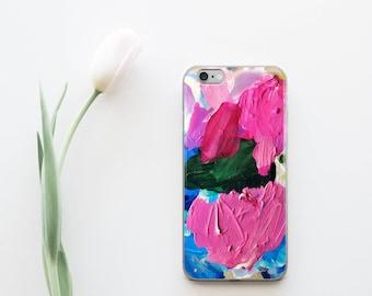 Artistic Phone Case, iPhone 7 Case, iPhone 6 Plus Case, Artsy iPhone Case, Marbled iPhone Case, iPhone 7 Plus Case, Pink iPhone 7 Case