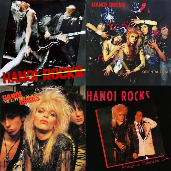 Hanoi Rocks Album Cover S...