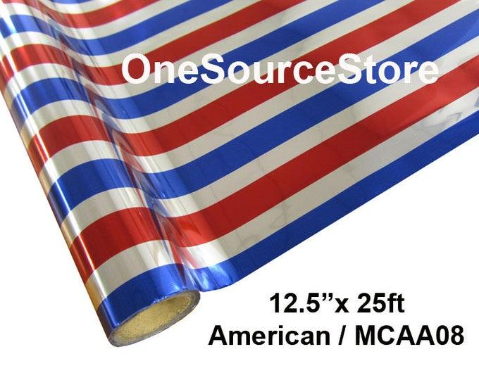 "HTV Textile Foil* / 12.5 ""x 25 ft / American / MCAA08"