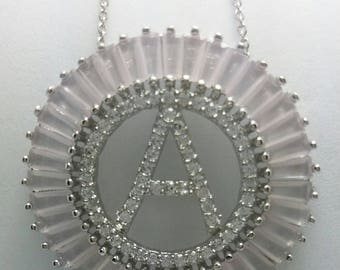 Necklace letter A