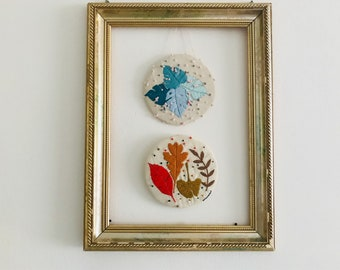 Summer/Autumn embroidery wall decor