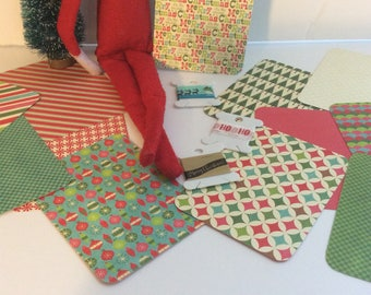 Holiday Themed Journal Card Set With Coordinating Washi Tape-3 x 4