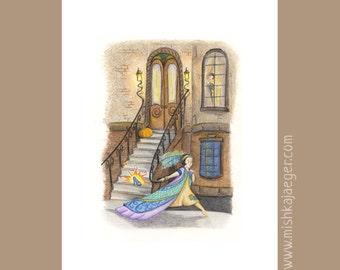 Cinderella 8x10 Art Print
