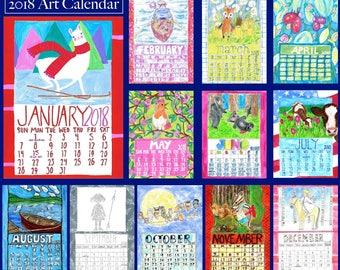 5 x 7 Desk Calendar