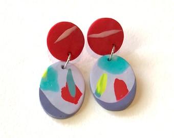 Wearable art earrings
