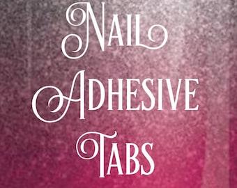 24 Press On Nails Adhesive Tabs