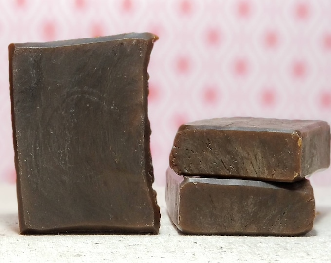 Flip's a Lumberjack (and he's okay)  --  Pine Tar Soap, All Natural, Handmade, Vegan Soap, Man-Friendly, Free Shipping