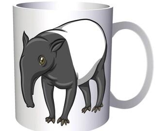 Tapir Cartoon Animation 11oz Mug g776