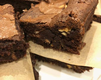 Triple Chocolate Brownies - Box of 6 or Box of 16