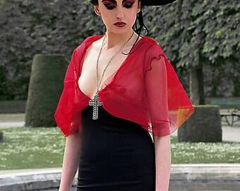 Mini extravagant dress