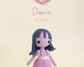 Dumiia Doll Crochet Pattern By Yarnii
