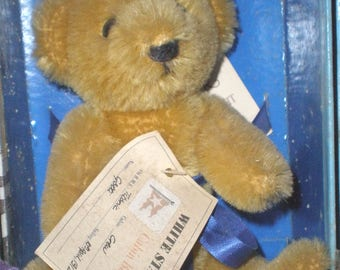 Merrythought Titanic bear/Vintage/1980s/British