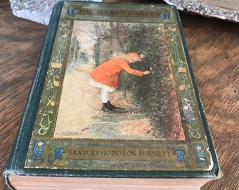 The Secret Garden 1911 Antique Book