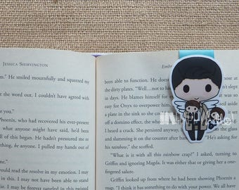 Large Magnetic Bookmarks • An Angel and His Dolls
