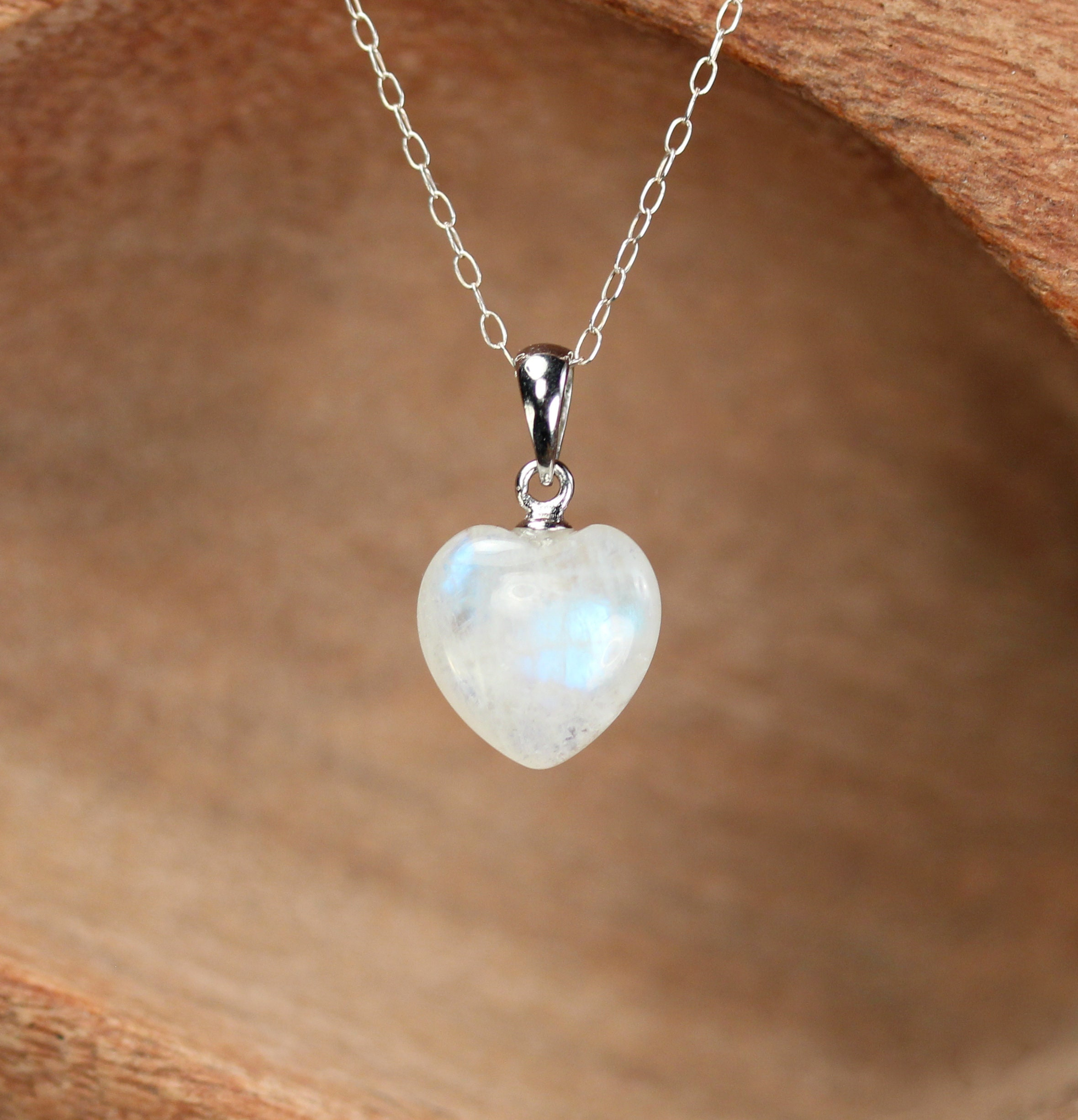 moonstone hdr rainbow garnet genuine img stone healing moon heart silver pendant products sterling