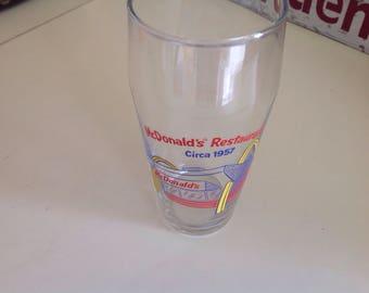 Vintage McDonalds glass 1995