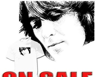 40% OFF SALE George Harrison T shirt Beatles John Lennon Paul Paul McCartney Ringo Starr