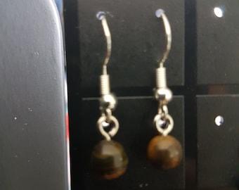 Fantasy Tiger eye earrings