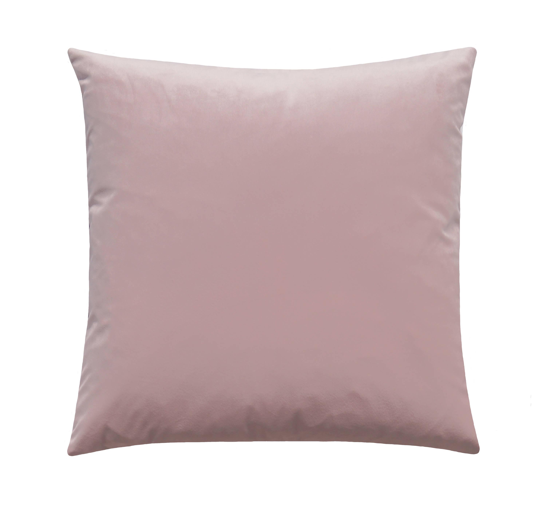 Blush Velvet Pillow Cover Pink Blush Pillow Light Pink
