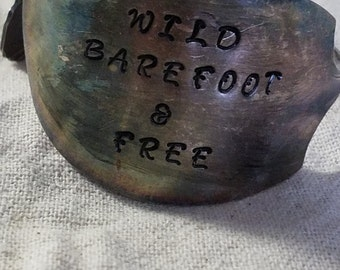Wild barefoot and free