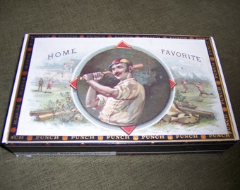 Home Favorite Cigar Box Baseball Stadium