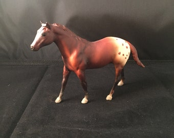 Vintage Breyer Horse Appaloosa model small size - great condition