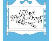 Gladness Feeling, poster ...