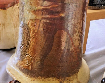 A Wood Fired Vase.