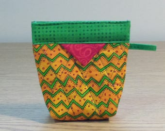 Quilted Snap Bag (SB608) Zig Zag