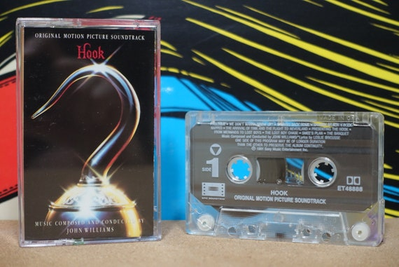 Hook (Original Motion Picture Soundtrack) by John Williams Vintage Cassette Tape