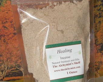 Healing Incense Powder Special Wiccan Craft 1 oz Pagan Altar Ritual Spell