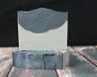 Tea Tree Charcoal Soap with Sea Clay, Vegan Soap, Natural Soap