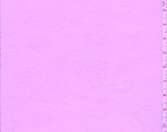 Pink Lawn Burnout, Fabric By The Yard