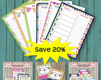 Summer Days MEAL PLANNING BUNDLE - save 20%!