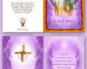 Imbolc - High Holiday - Sabbat Card