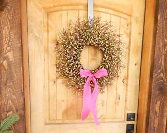 Spring Wreath-Easter Wreath-Spring Door Decor-Rustic Twig Wreath-SCENTED Door Wreath-Summer Wreaths-Year Round Wreath-Rustic Wreath-Gifts