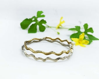 Bangle bracelet Stackable bangles Stacking bangles Bronze Bronze jewelry Sterling bangle Silver bangles Silver bracelet Sterling silver