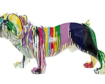 "Interior Illusions Graffiti Bulldog - 30"" Long (Realistic Size!)"