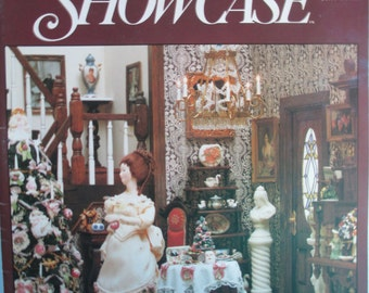 Miniature Showcase Magazine back issue Fall 1988 used good condition