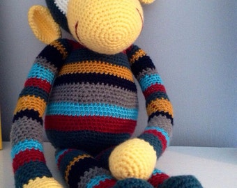 PATTERN George the Monkey - Stuffed Animal Crochet Pattern