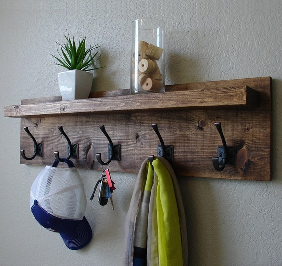Corvallis Coat Rack With Floating Shelf