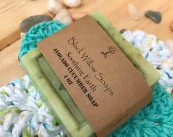 Soothing Earth Natural Soap, Handmade Soap, All Natural Soap, Homemade Soap, Handmade Soap, Bar Soap, Spa Soap, Soaps