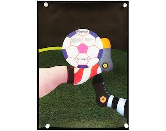 Fussball - Soccer - Football - Genkinger 1974 poster